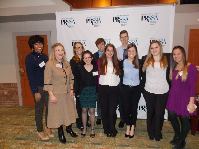 K with PRSSA students